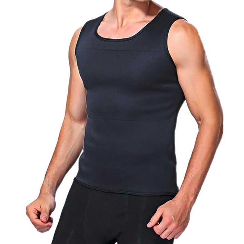 Горячий Пот средства ухода за кожей коррекция фигуры, тренировка для талии живот для похудения жира Управление живота Формирователь облегающий жилет Корректирующее белье для похудения