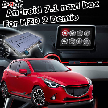 Android GPS navigation box for new Mazda 2 demio with wireless