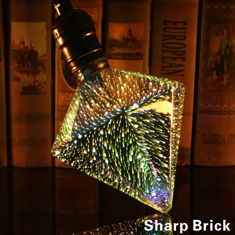 Image 3 - Led Light Bulb 3D Decoration Bulb 220V ST64 G95 G80 G125 A60 E27 Holiday Lights Novelty Christmas Lamp Lamparas-in LED Bulbs & Tubes from Lights & Lighting