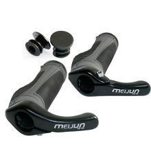 Bicycle Handlebar Cover Grips Cycling Lock On Soft Bike Handlebar Ergonomic Anti-Skid Rubber Hand Grips цена в Москве и Питере