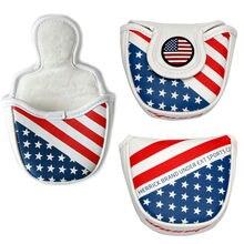 Колотушка для гольфа головной убор Флаг США Дизайн клюшки с