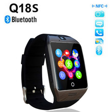 2016 new Upgraded version NFC Bluetooth Smart Watch APRO Q18S With Camera Sync SMS MP3 Support Sim TF Card For IOS Android Phone