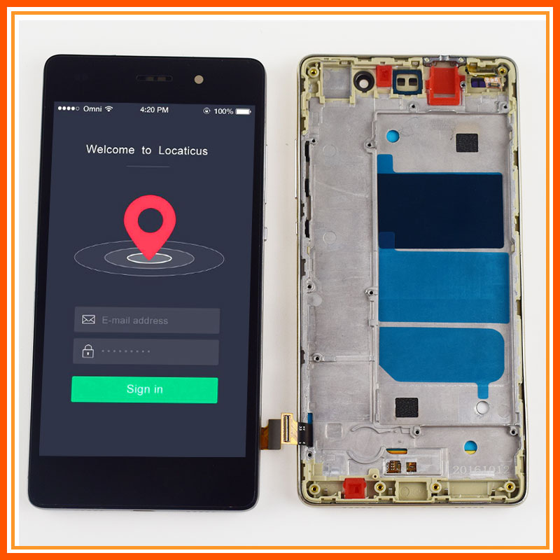 LCD For Huawei P8 Lite LCD Touch ALE L04 L21 LCD Display Screen Panel  + Touch Screen Digitizer Sensor Glass Assembly FrameLCD For Huawei P8 Lite LCD Touch ALE L04 L21 LCD Display Screen Panel  + Touch Screen Digitizer Sensor Glass Assembly Frame