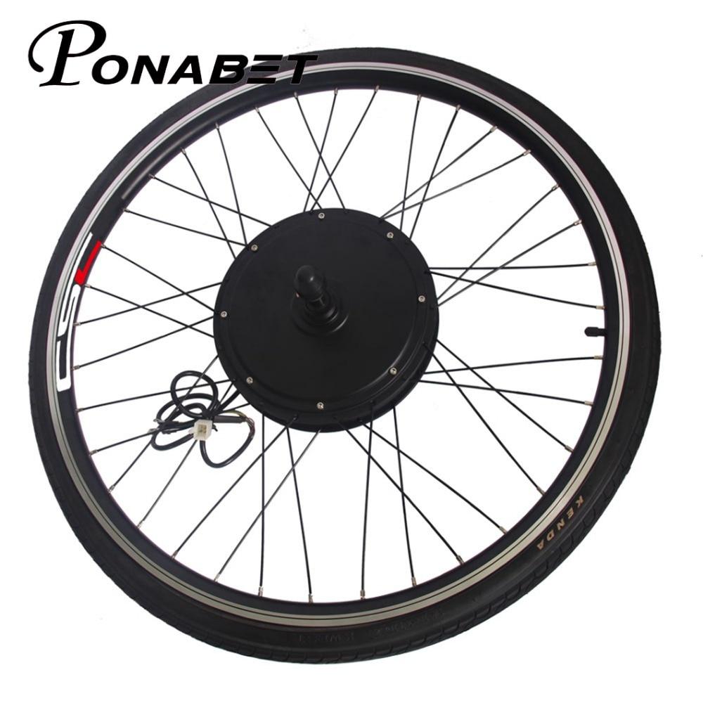 Sale Ebike Electric Rear Motor Conversion Wheel Without Battery 20 26 27.5 27 28 29 inch 250w 500w 1000w 1500w E Bike Parts 36V 48V 4