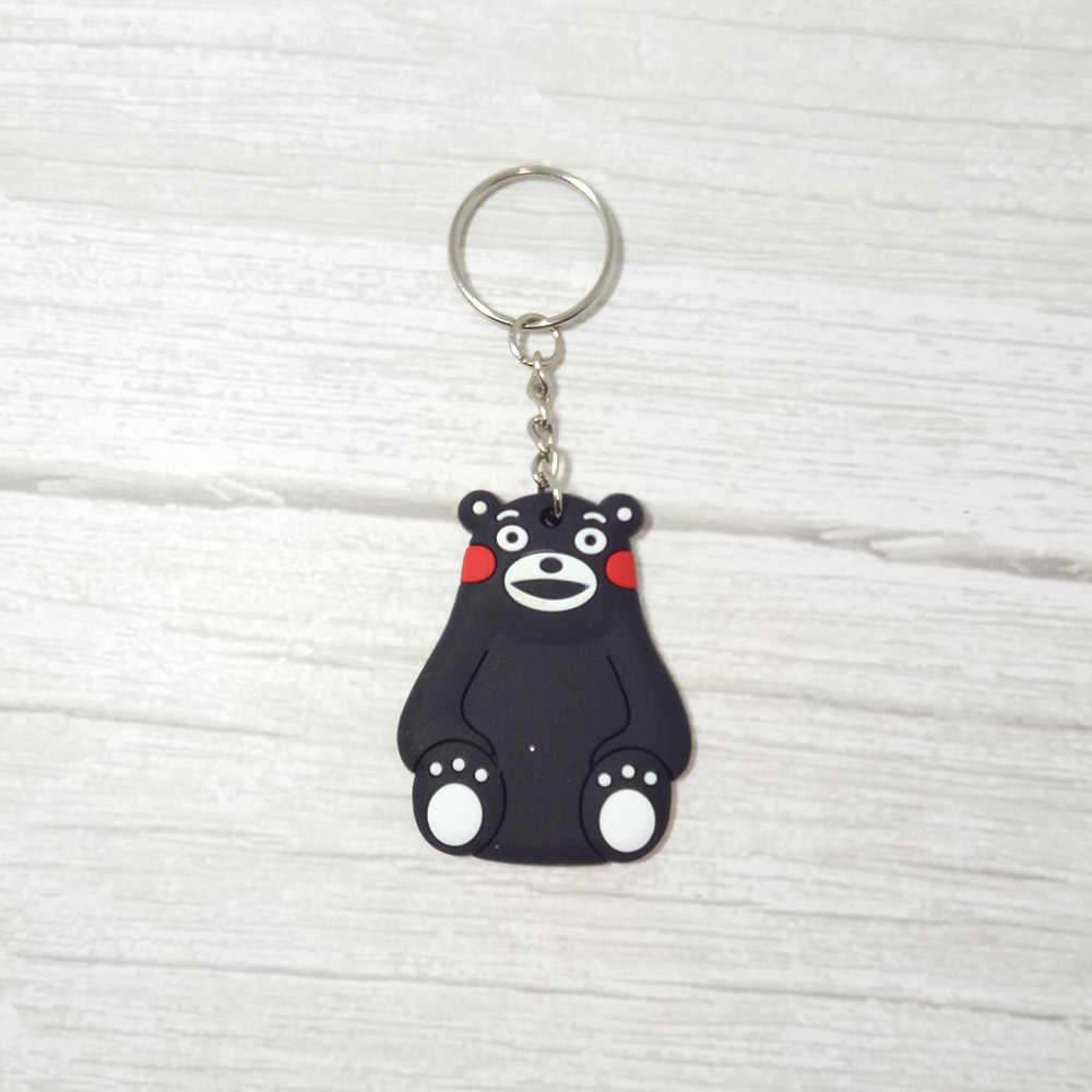 Olá Kitty Figura Dos Desenhos Animados Pingente de Chave Anel Chave Da Cadeia de PVC batman Anime Brinquedo do Miúdo Presente Trinket Chaveiro Titular Favores Do Partido jóias