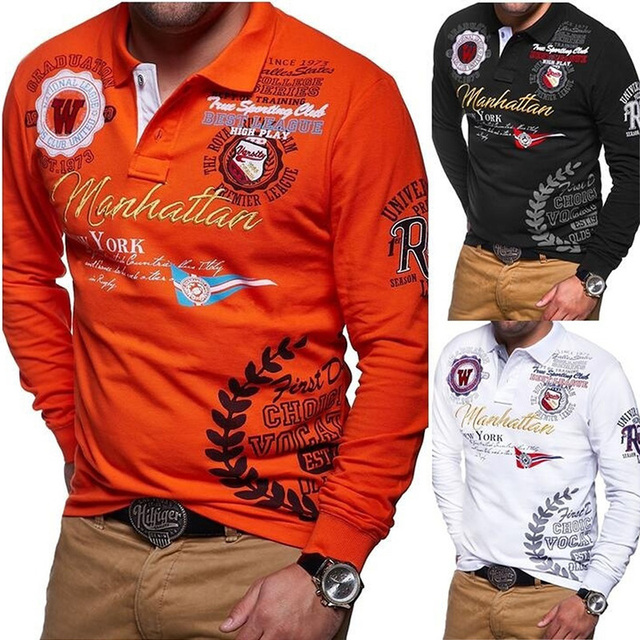 9dfc7a0d31 ZOGAA New Models Aeronautica Militare Camisa Masculina Polo Men Long Sleeve  Polo Shirt Brands Solid Polo