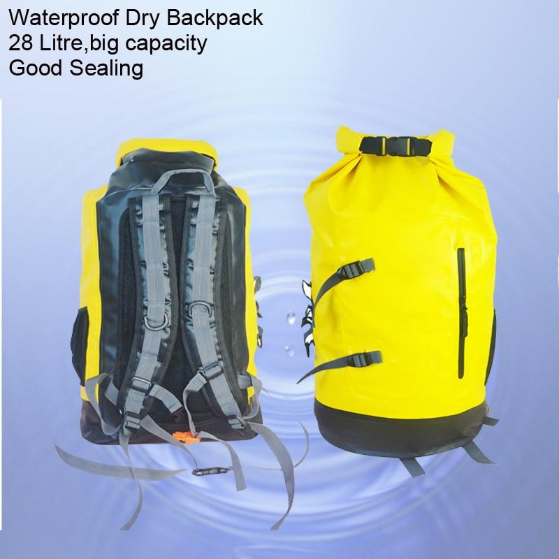 28L vattentät torrpåse Roll Top Dry Compression Sack håller - Vattensporter