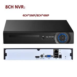 Image 2 - AZISHN 8CH/16CH/32CH CCTV NVR 4MP 5MP 1080P אבטחה H.265/H.264 רשת מעקב וידאו מקליט HDMI VGA FTP 3G XMeye