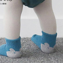 0-24 months Autumn and winter Newborn Baby Socks Unisex Boys Girls sock Infant Cute Cartoon coral fleece non slip bottom socks
