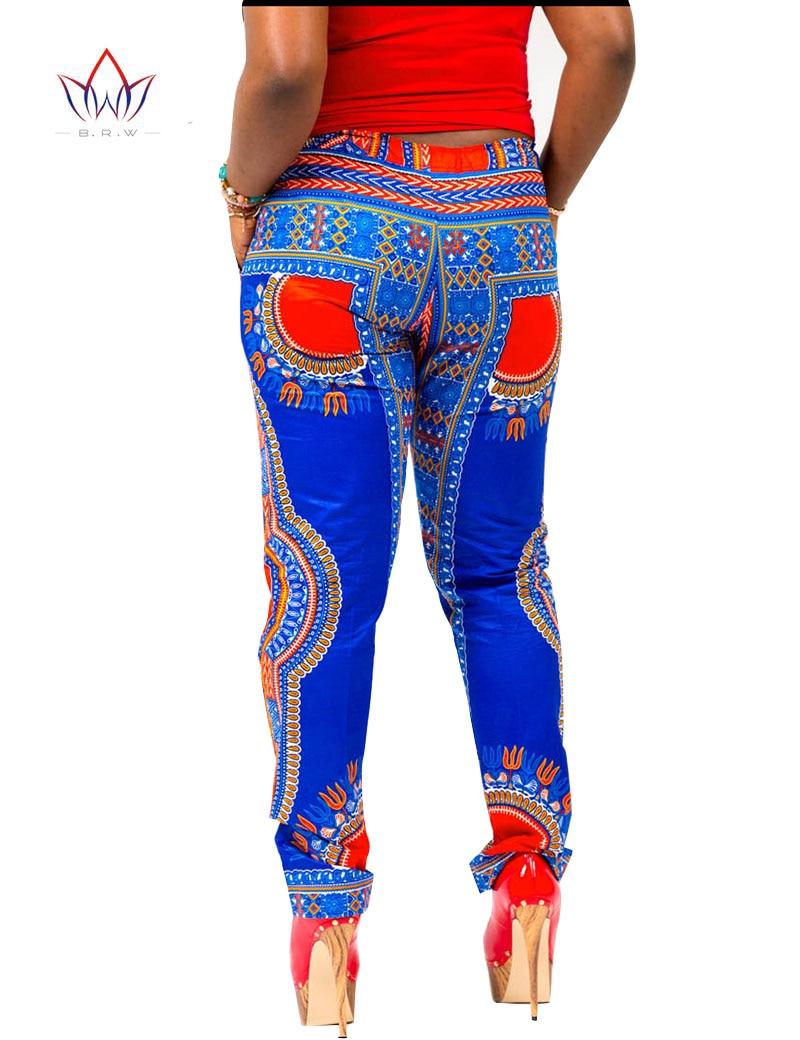 Летний комплект из 2 предметов, брюки и укороченный топ, большие размеры, женская одежда в африканском стиле, штаны с принтом для женщин, комплект со штанами в африканском стиле, BRW WY654 - 5