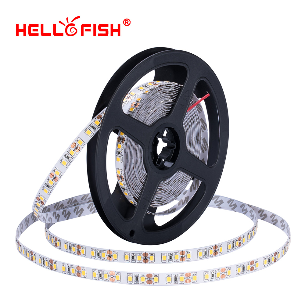 High brightness CRI 2835 led diode strip light DC 12 V flexible light stripe 5m 120 LED tape lights & lighting Hello Fish