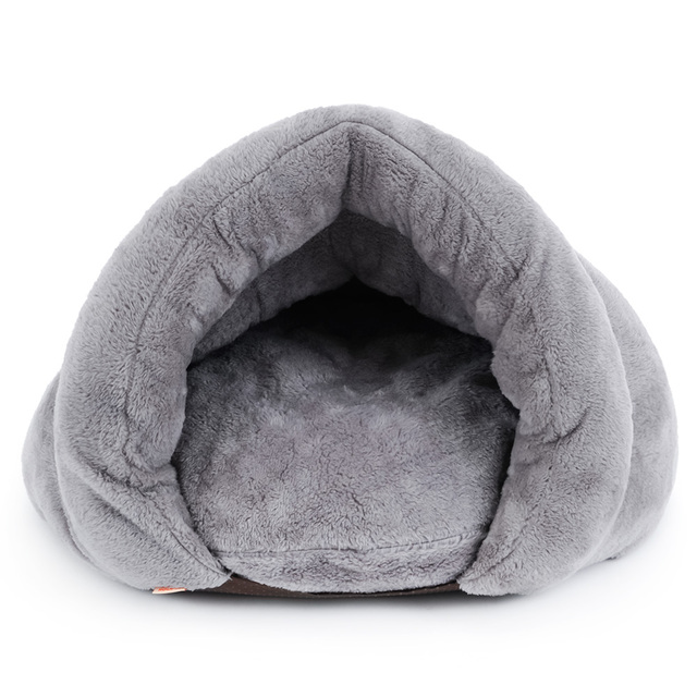 Dog Cat Self-Warming Soft Sleeping Bag Kitten Snuggle Sack Bed Cuddly Cave Pet House Blanket Mat Cushion