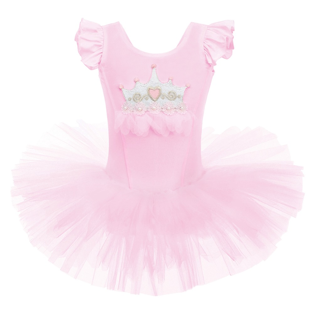 US Girls Ballet Dance Dress Toddler Leotard Gym Dancewear Ballerina Wear Costume