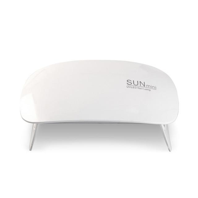 LED UV Lamp Nail Dryer SUNmini 6W Portable USB Cable For Prime Gift 45s/60s Timer Lamp For Nails Gel Varnish JJDJ01