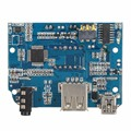 DC3.3-5V TF FM USB MP3 Format Decoder Board LN4863 Dual Channel 3W*2 Amplifier Module Decoding Audio Player
