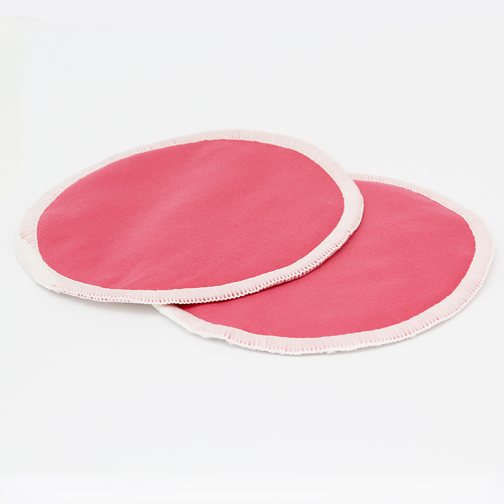 10PC Organic Bamboo Breast Pad Nursing Pads Solid Color For Mum Waterproof Washable Feeding Pad Bamboo Stay Reusable Breast Pad - 6