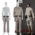 New Star Wars Luke Skywalker Jedi Cosplay Costume Customized Cos Accessories Full Suit Custom Made Any Size HIgh Quality For Men