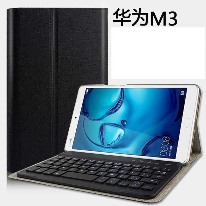 Étui pour clavier bluetooth pour huawei mediapad m3 8.4 32 gb 64 gb lte tablette PC pour huawei mediapad m3 8.4 32 gb lte étui pour clavier
