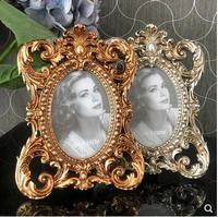 6 inch classical resin photo frame, ornament decoration, European retro court photo frame