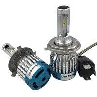 DarkAway H7 LED Car Headlight H8 H9 H11 HB3 9005 HB4 9006 H1 LED H4 Hi Low Supper Bright Far Light Beam Bulb 6500K 60W 6000lm