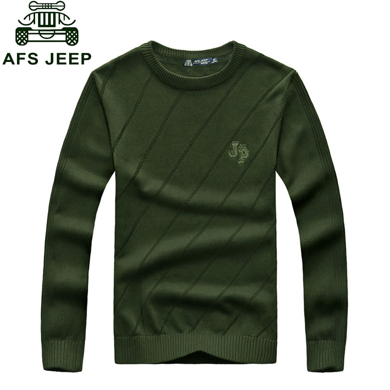 CLOTHES Autumn Casual font b Men s b font Pullovers font b Sweaters b font Knitted