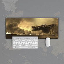 Фильм Игра престолов Железный Трон король сиденье волк, дракон коврик для мыши модель Ночной король Джон Сноу Старк значок компьютерные запчасти игрушки подарок