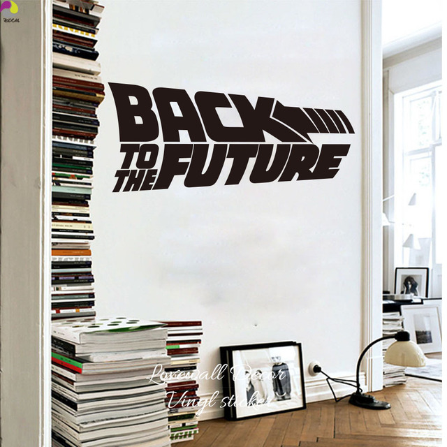Back To The Future Quote Wall Sticker Bedroom Living Room