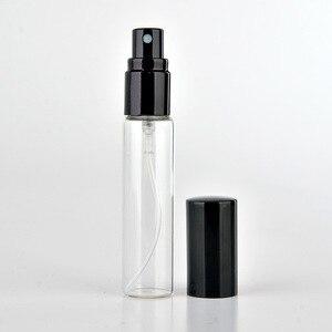Image 2 - 300 teile/los 5ml 10ml leere glas spray flasche kleine kosmetische behälter tragbare reise nachfüllbare parfüm zerstäuber