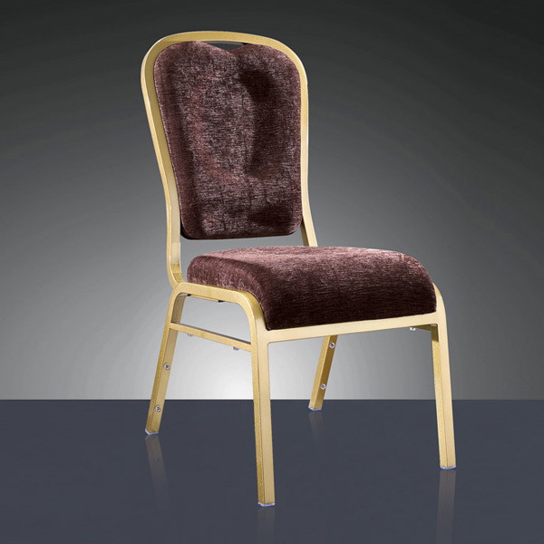 wholesale luxury quality strong stackable aluminum restaurant chair LQ-L1050 luxury aluminum watch