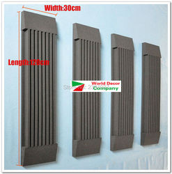Acoustical Studio Foam for HIFI home theater concert hall Wall Tiles  Absorbers 4set 120*30*7.5cm acoustic foam