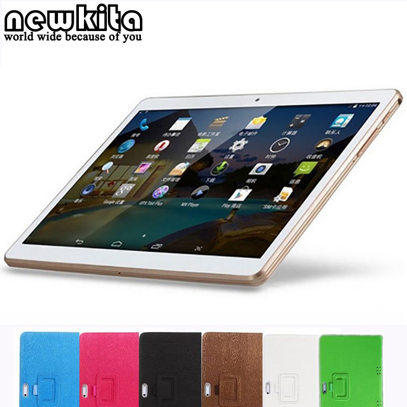 Newkita 9.6 MT8752 Octa Core 3G Tablet Android 5.1 Dual SIM 4GB/32GB 2MP+5MP GPS Bluetooth 1280*800 IPS Wifi Tablet PC автомобильный dvd плеер joyous kd 7 800 480 2 din 4 4 gps navi toyota rav4 4 4 dvd dual core rds wifi 3g