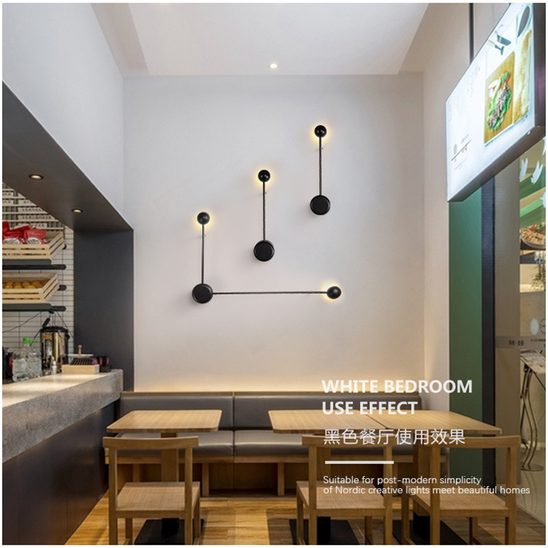 Modern Creative Concise Living Room Led Wall Light Art Designer Kitchen Study Bedroom Bar Decoration Lamp Free Shipping northern europe modern creative concise style pendant light living room bedroom study decoration light free shipping