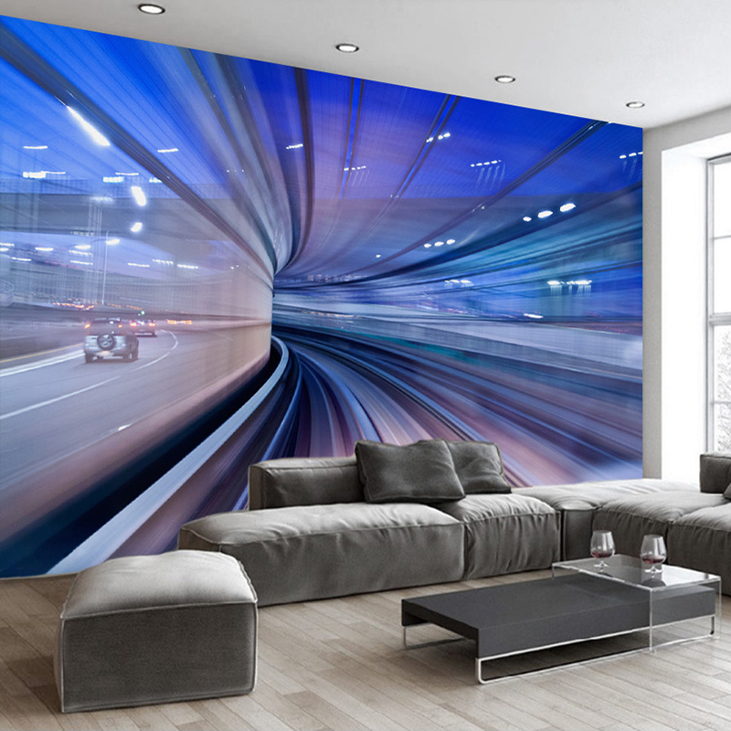 3D Mural Wallpaper Custom Photo Wall Paper 3D Stereoscopic Space Extension Bedroom Living Room Sofa Wall Murals Papel De Parede