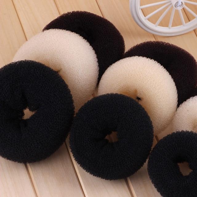 Donut Shape Hair Ring Bun 1