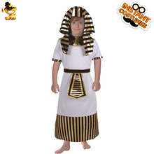 a207965d679c DSPLAY Original Kids Egyptian Priest Costume Boy's Arab Fancy Dress Costumes  For Halloween Cainival New Year