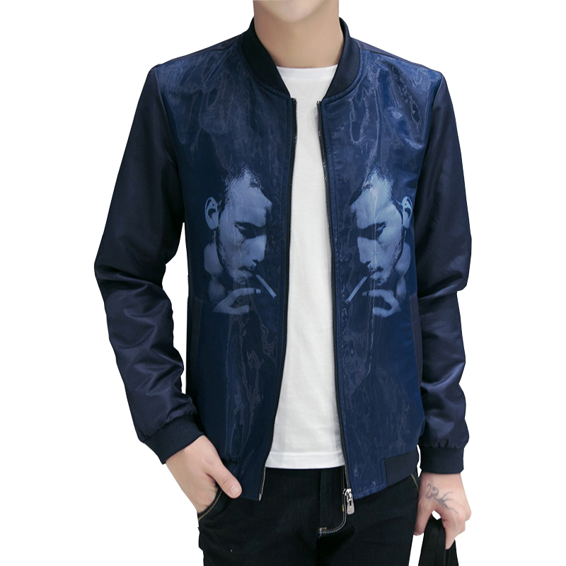 New Fashion Brand Jacket Men Slim Fit Mens Designer