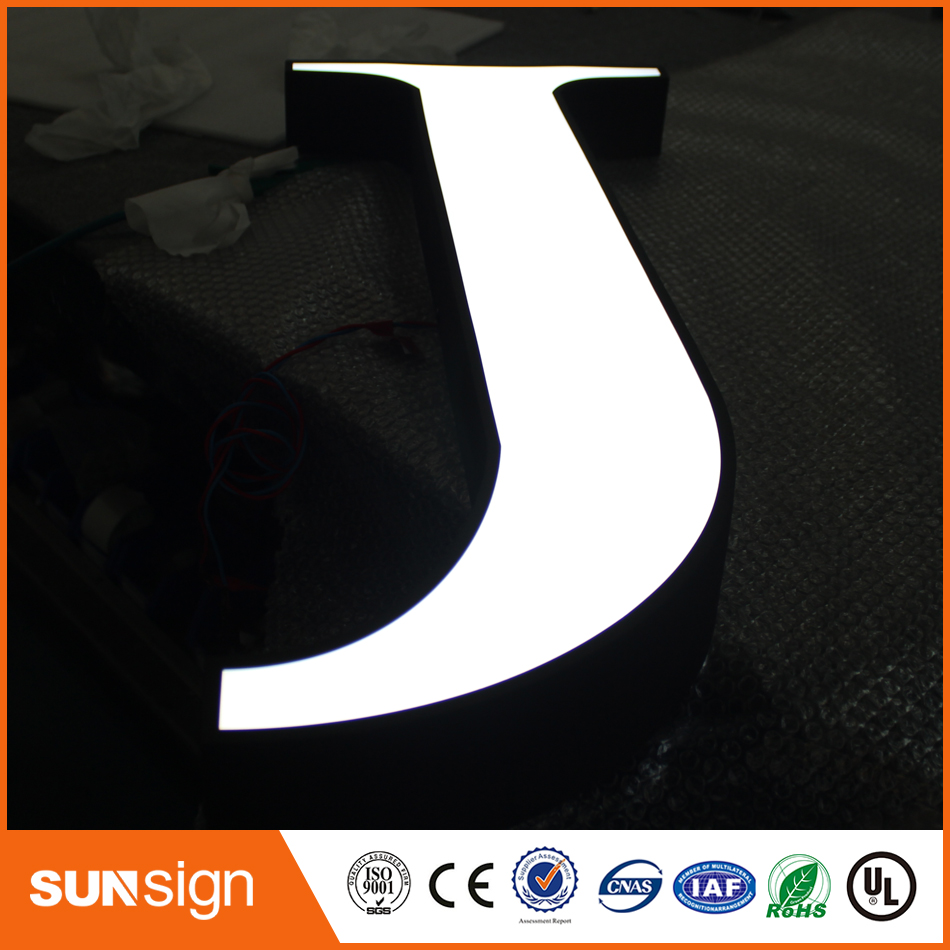 Stainles Steel Led Channel Letters