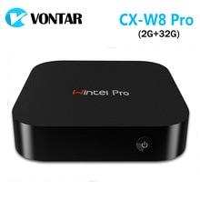 [Véritable] Wintel CX W8 Pro Mini PC Windows 10 OS Intel Z8300 CPU 2 GB/32 GB Wintel Pro 2.4G Wifi BT4.0 RJ45 100 M Windows TV boîte