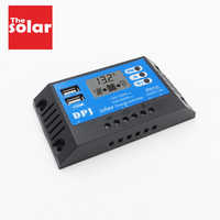 RP10 DC 12V 24V Auto 10A 100W 200W Solar Charge Controller PWM Solar battery charger Solar PV Regulators with LCD Display and 5V