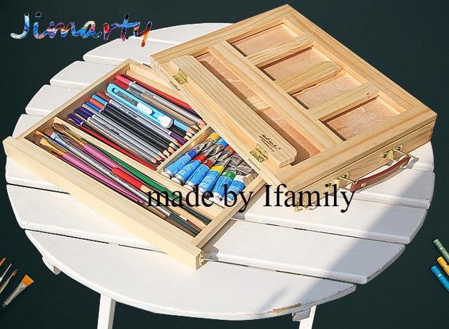 Filet de bureau d ordinateur portable boîte chevalet peinture