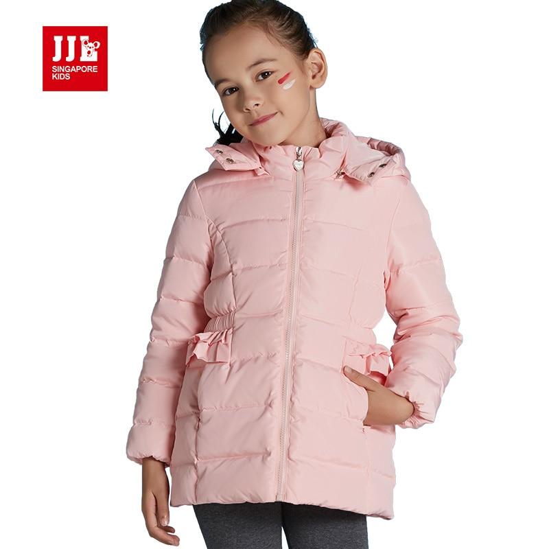 girls jackets winter girls duck down coats hoodde coats 80% white duck down girls parka children outwear outdoor jackets kids