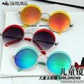 Классические Детские Круглый Солнцезащитные Очки Дети Безопасности Покрытие Очки Солнцезащитные Защита UV 400 Мода Дети Оттенки óculos de sol
