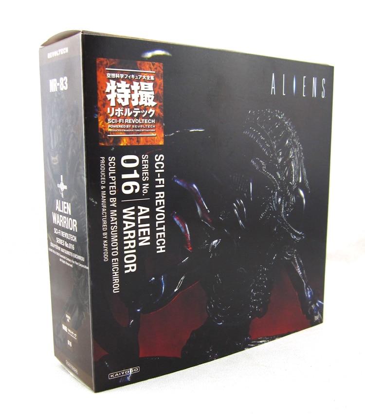 New Classic Terror Sci-Fi Film Alien Series Alien Warrior Revoltech 016 # 15CM Action Figur Leksaker