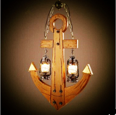 Wooden Anchor Shade Loft Style Retro Industrial Lamp Vintage Pendant Lights Fixtures Hanglamp Lamparas Colgantes Luninaire 2s 7 4v 2 5a li ion battery protection board bms pcm for 18650 lithium polymer ion li battery protect module