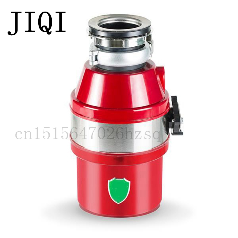 JIQI Mute design food garbage processor kitchen Waste Disposer 450W overload protection Stainless Steel Garbage Grinder wavelets processor