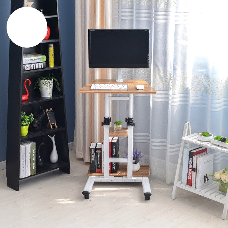 Standing Hanging Bedside Household Computer Desk Lazy Mobile Computer Desktop Adjustable Office Table