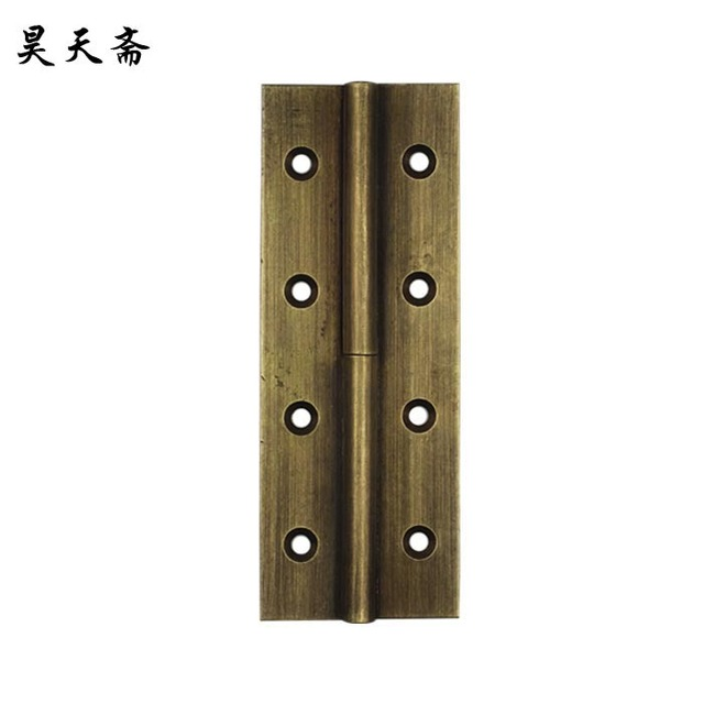 Bon [Haotian Vegetarian] Antique Copper Hinge / Coincide Page / Hinge Bronze  Door Hinge HTF