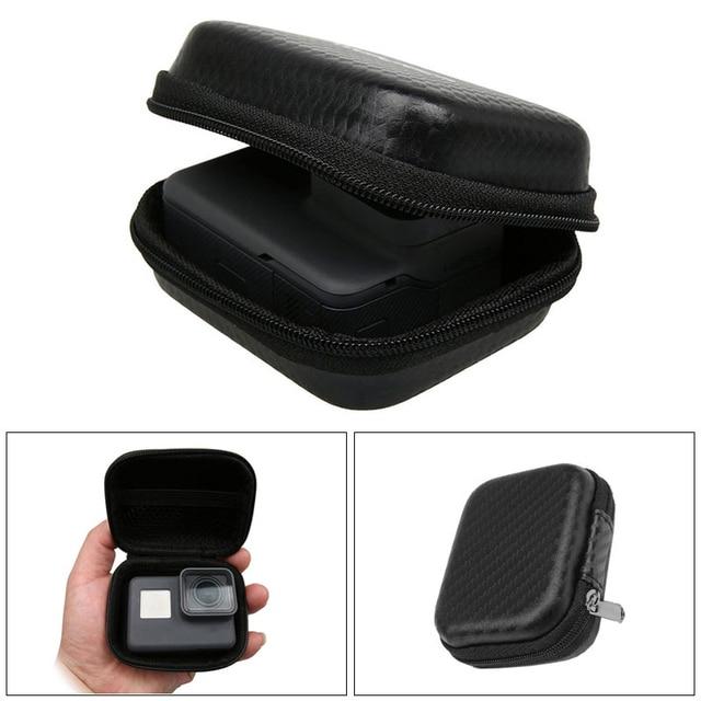 Box portátil Mini Esporte Camera Case para GoPro Herói 6 4 5 4 Sessão Xiaomi Yi 4 K Eken H9 h9r SJCAM SJ4000 Go Pro Acessórios