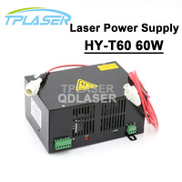 HY T60 Co2 Laser Power Supply 60w For Laser Engraving And Cutting machine
