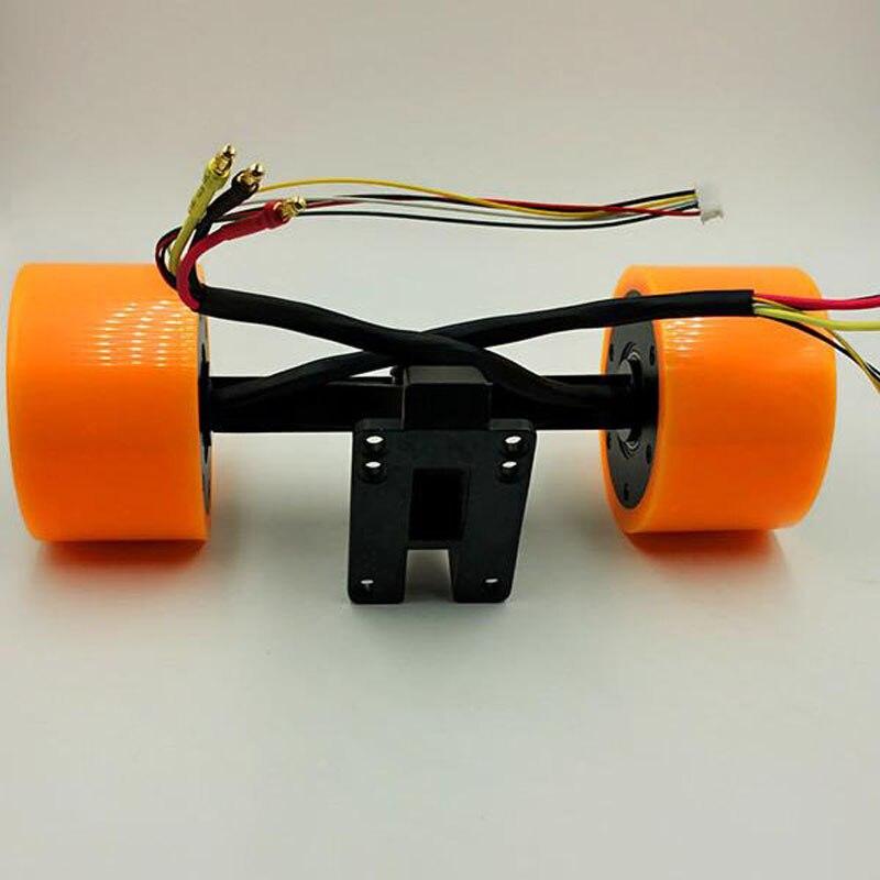 350 w électrique planche à roulettes sensored moyeux de roue moteur roue moteur en-moyeux de roue moteur pour diy électrique longue planche patin à roulettes